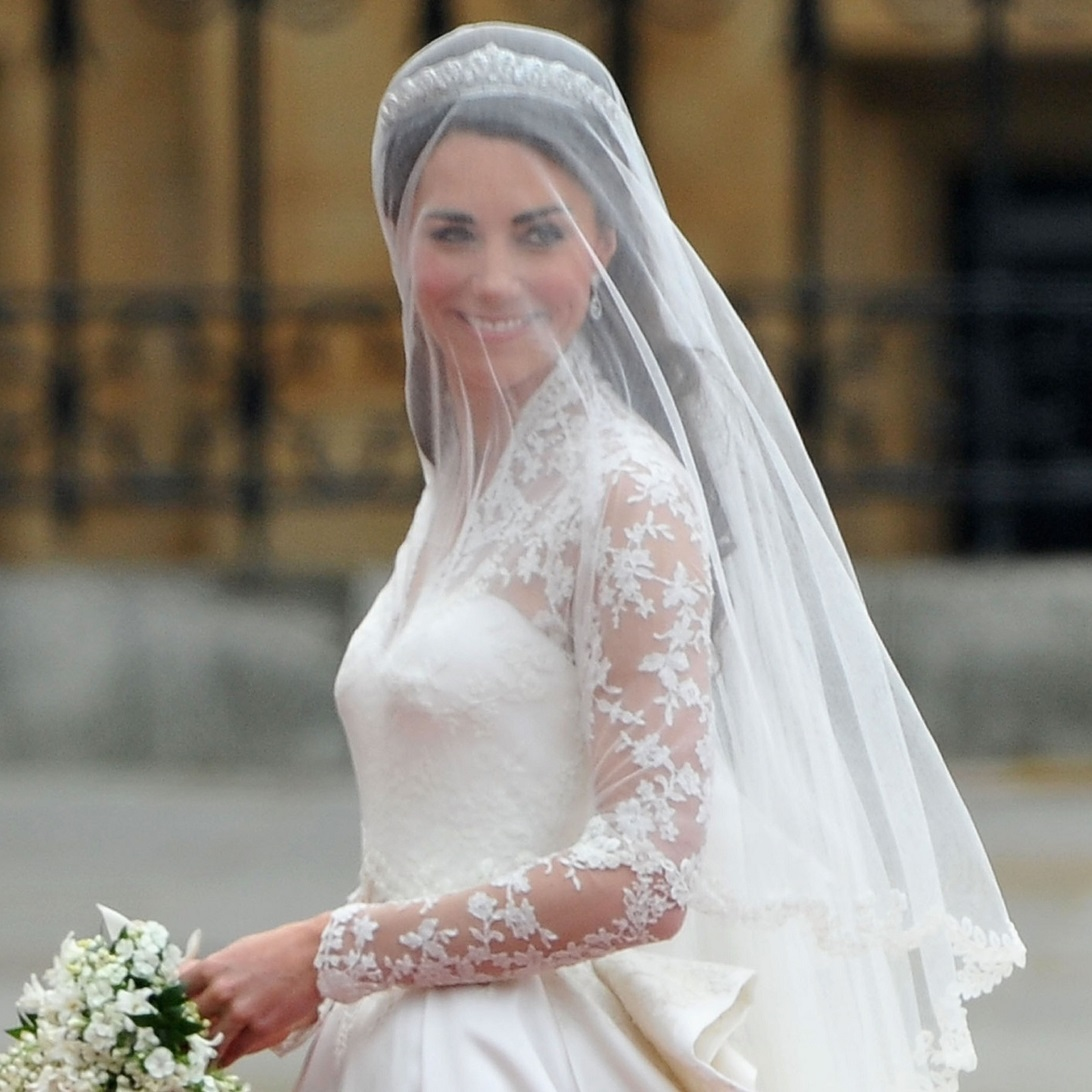 6 bridal hairstyle tips for your big day for Wedding dress princess kate