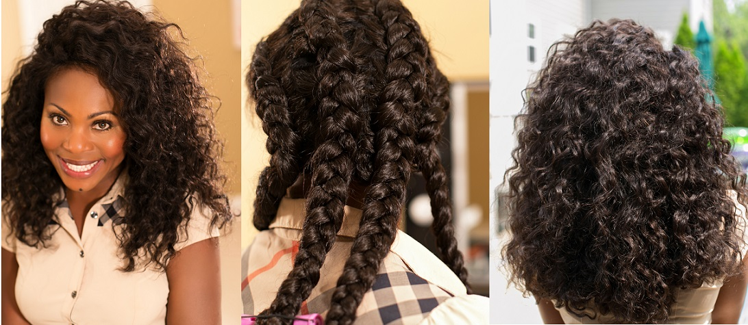 Stupendous Easy Braided Hairstyles For Natural Hair Best Hairstyle 2017 Short Hairstyles For Black Women Fulllsitofus