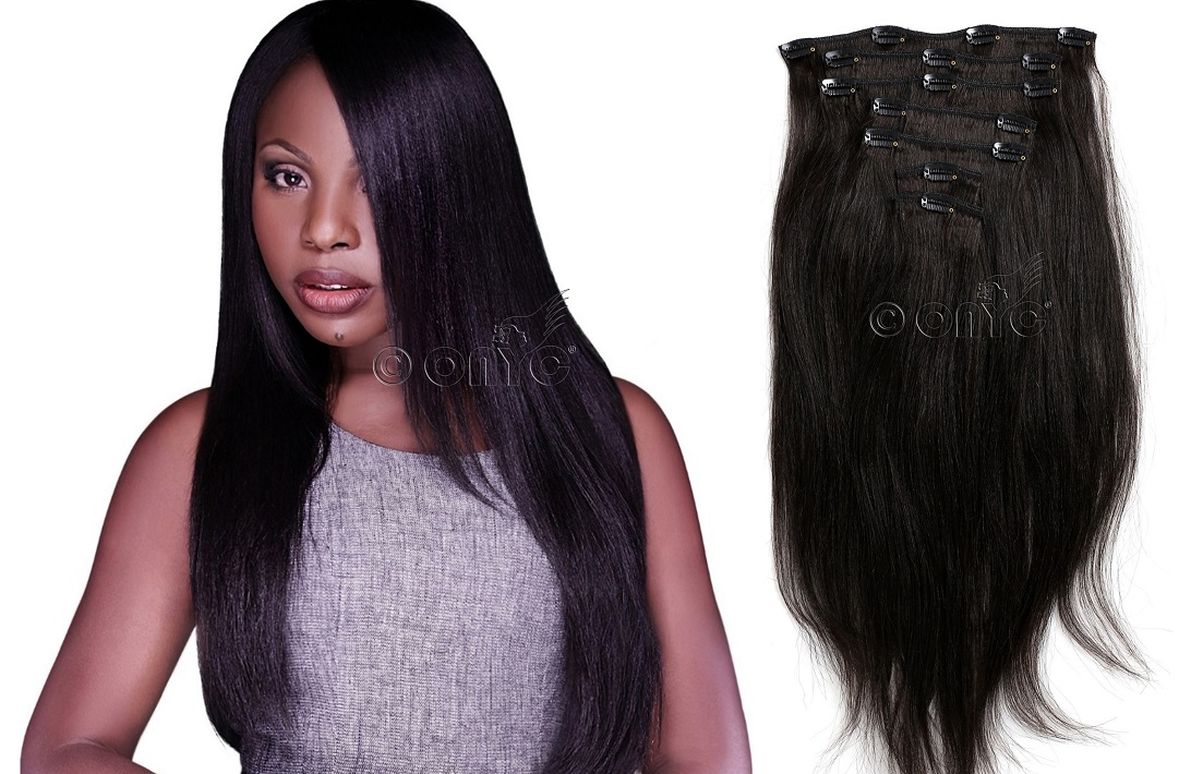 Coarse Yaki Clip In Hair Texture-ONYC Hair