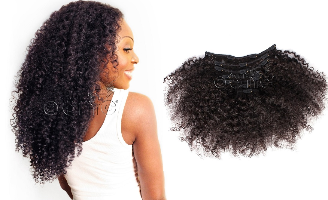 Kinky Curly Clipin 3B3C Hair