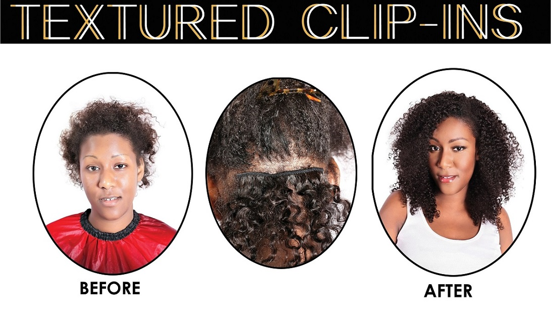 ONYC Hair Kinky Curly Clipin