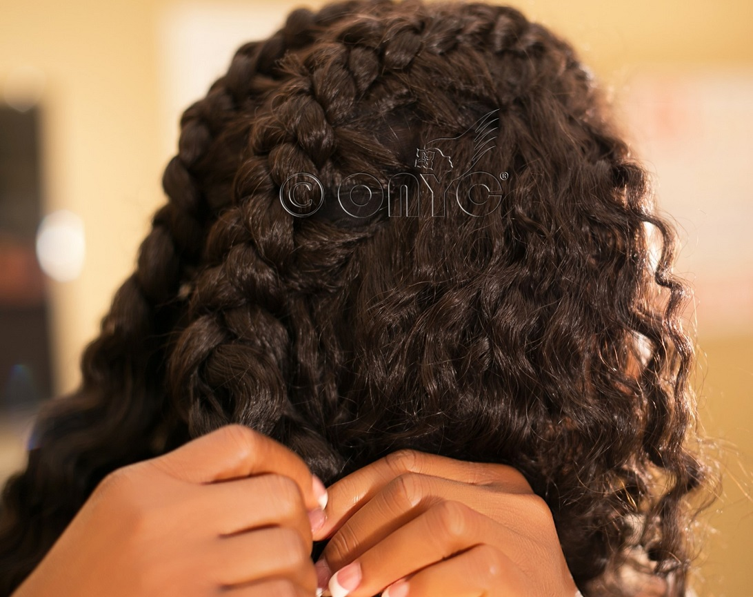 Thelma Okoro, ONYC Hair CEO taking out braids_watermarked