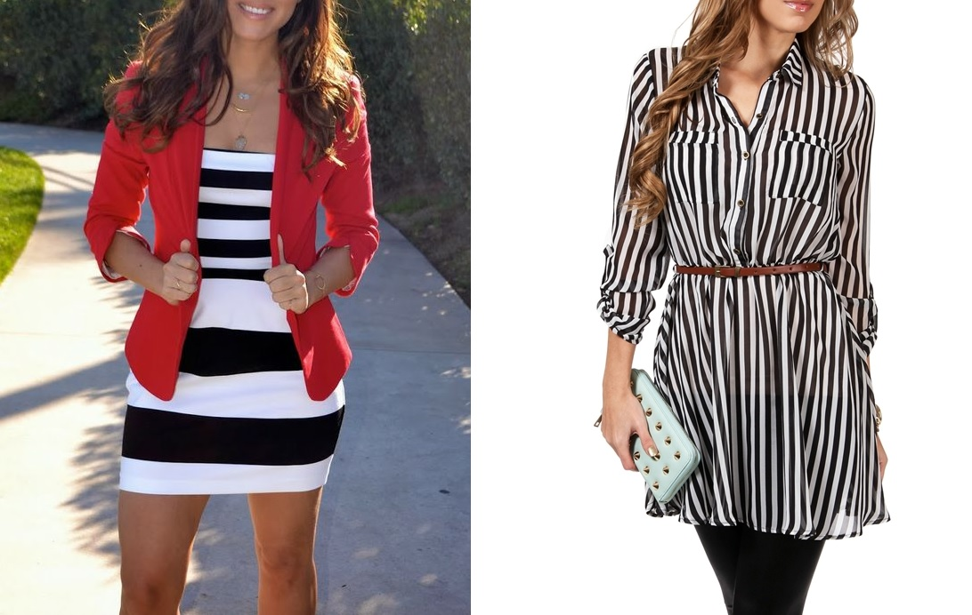 horizonal vs vertical-How To Wear Stripes The Right Way For Every Body Type