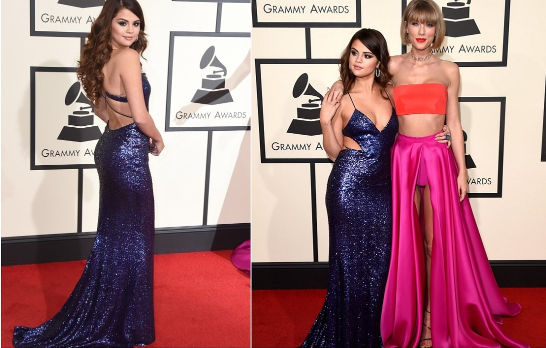 selena-gomez-blue-gown-best-dressed-celebrities-at-grammy-2016