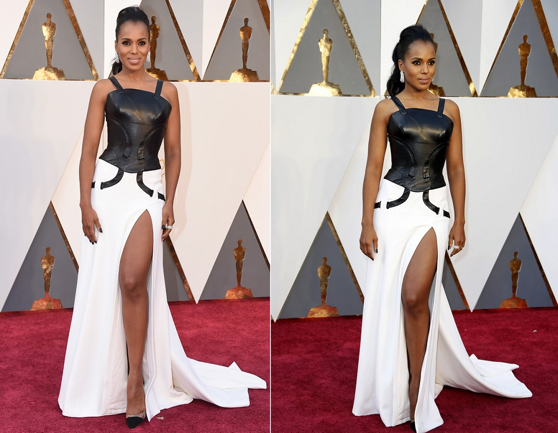 oscars-2016-best-dressed-kerry-washington-in-black-and-white-dress